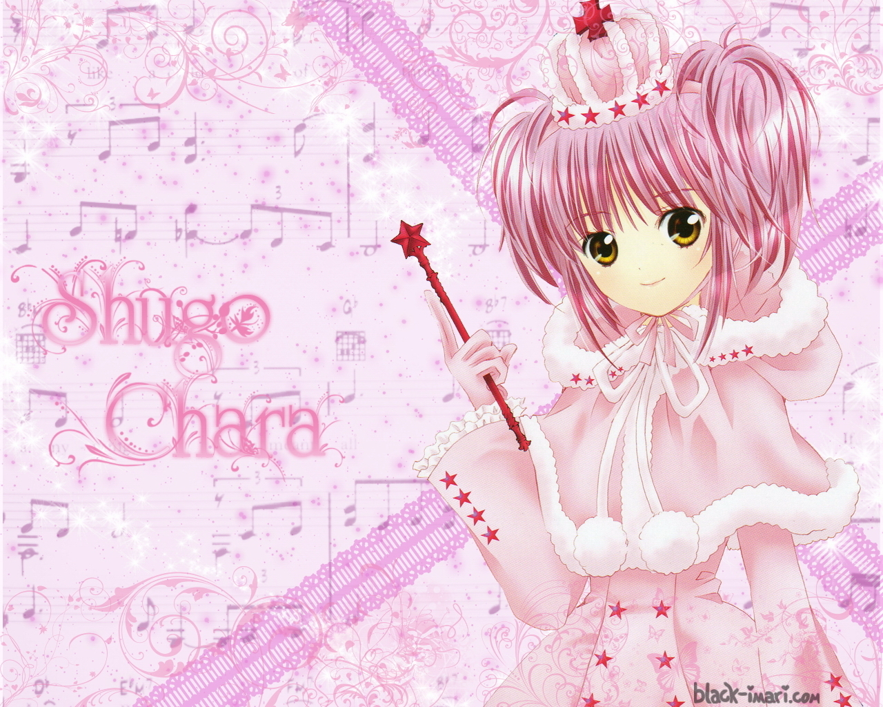 Shugo Chara images Pink Queen HD wallpaper and background photos
