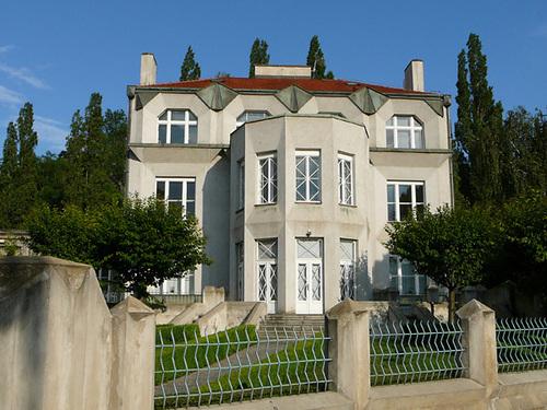 Prague Cubist architecture - Kovarovic villa