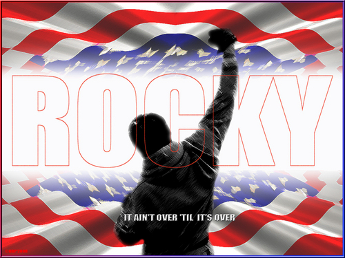 Rocky--It Ain't Over Til It's Over - rocky Wallpaper