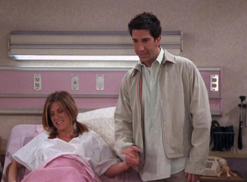 Ross and Rachel wallpaper containing a bathrobe titled Ross and Rach