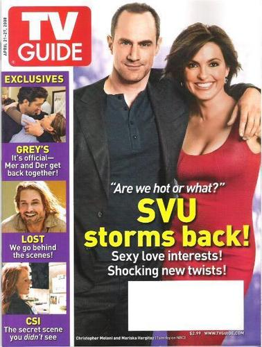 Law and Order SVU wallpaper probably containing a portrait entitled SVU - TV Guide
