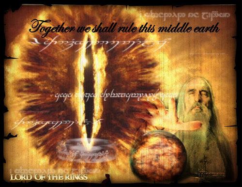 Saruman and Sauron