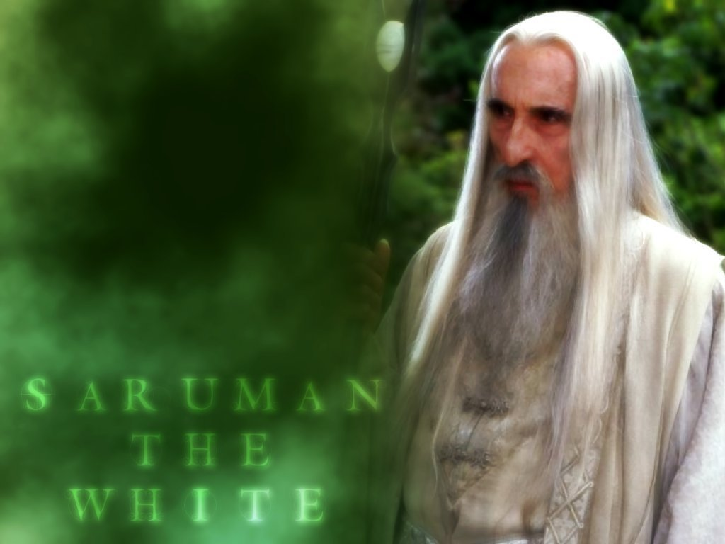 saruman - lord of the rings wallpaper  3072544