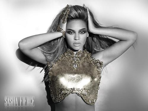 Beyonce wallpaper probably with a breastplate titled Sasha Fierce