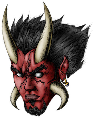 Satan Revised - design Fan Art