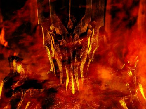 반지의 제왕 바탕화면 titled Sauron