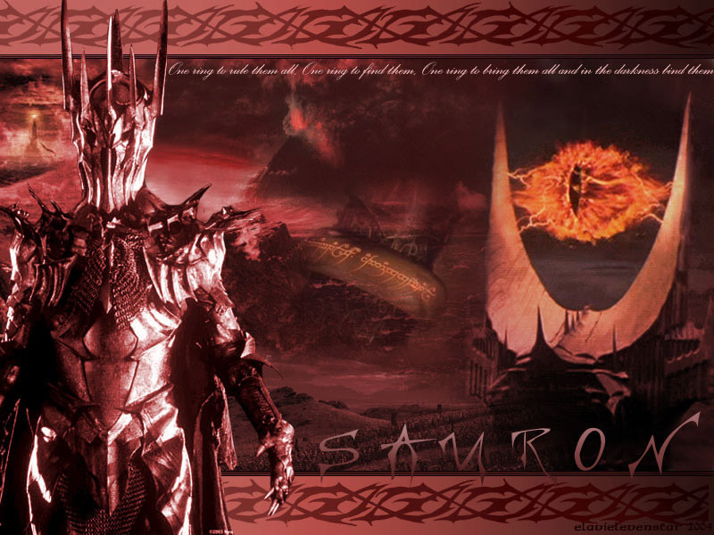 lord of the rings desktop wallpapers. Sauron - Lord of the Rings 800x600