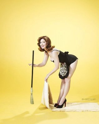 Desperate Housewives wallpaper called TVGuide Outtakes (Dana Delaney)