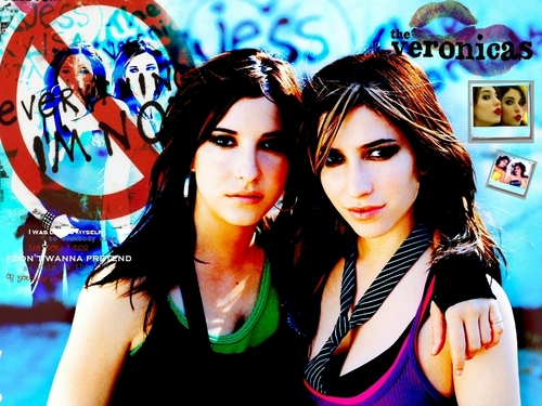 The Veronicas wallpaper containing a portrait titled The Veronicas