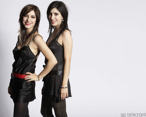 The Veronicas wallpaper with a well dressed person titled The Veronicas