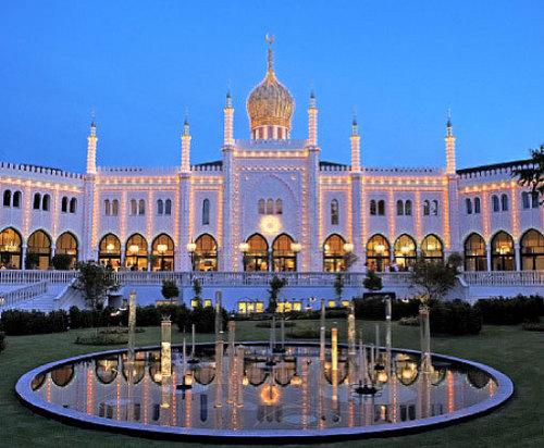 Tivoli istana, castle