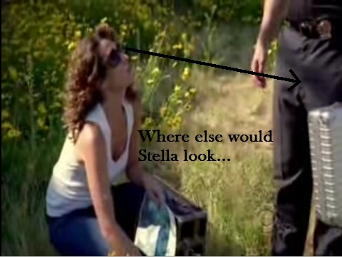Where else would Stella look? XD
