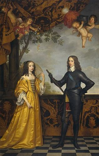 William II of laranja and Mary Stuart