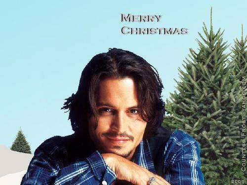 a Johnny Depp navidad (2008)