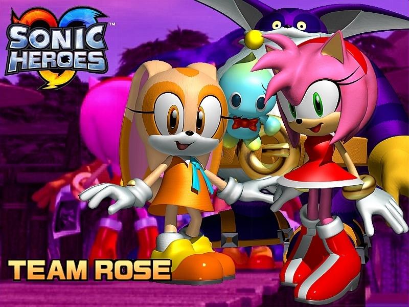 Sonic Heroes Wallpaper