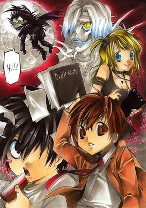 chibi note - Death Note