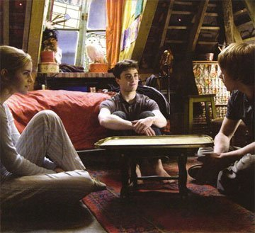 Harry Potter फिल्में वॉलपेपर possibly with a चोली, ब्रासेरी and a drawing room entitled harry potter and the 1/2 blood prince