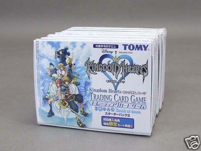 kingdom hearts trading cards