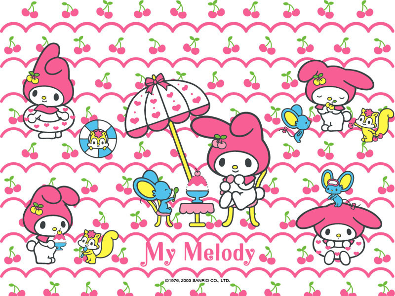 keroppi wallpaper. my melody - Sanrio Wallpaper