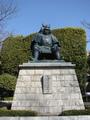 samurais statues