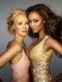 tyra and caridee - antm-winners photo