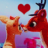 'Rudolph the Red-Nosed Reindeer' Icon - christmas-movies Icon