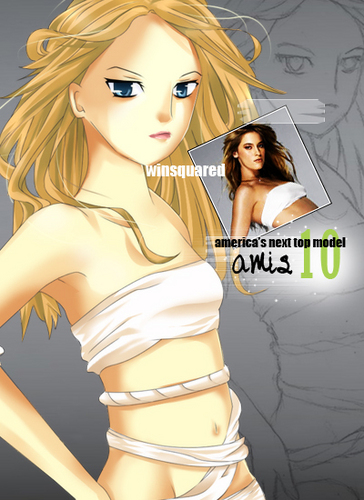 ANTM C10 : anime Version