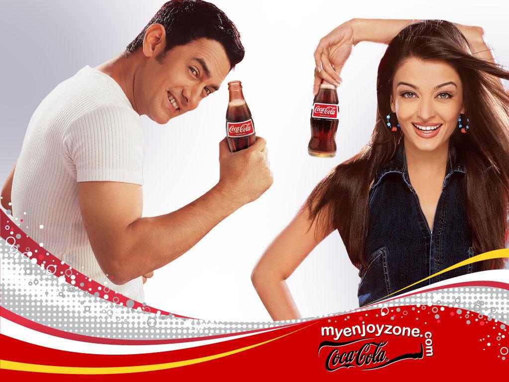Aishwarya Rai Aishwarya Rai - Coca Cola Ad