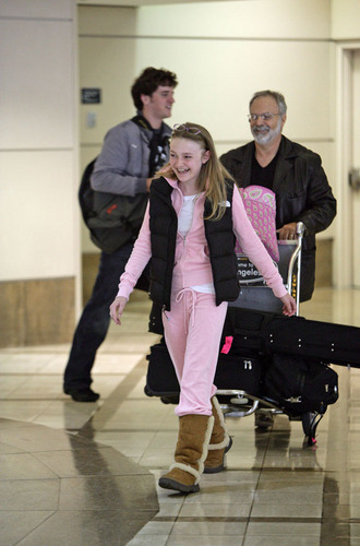 Arriving in Los Angeles Airport 2008