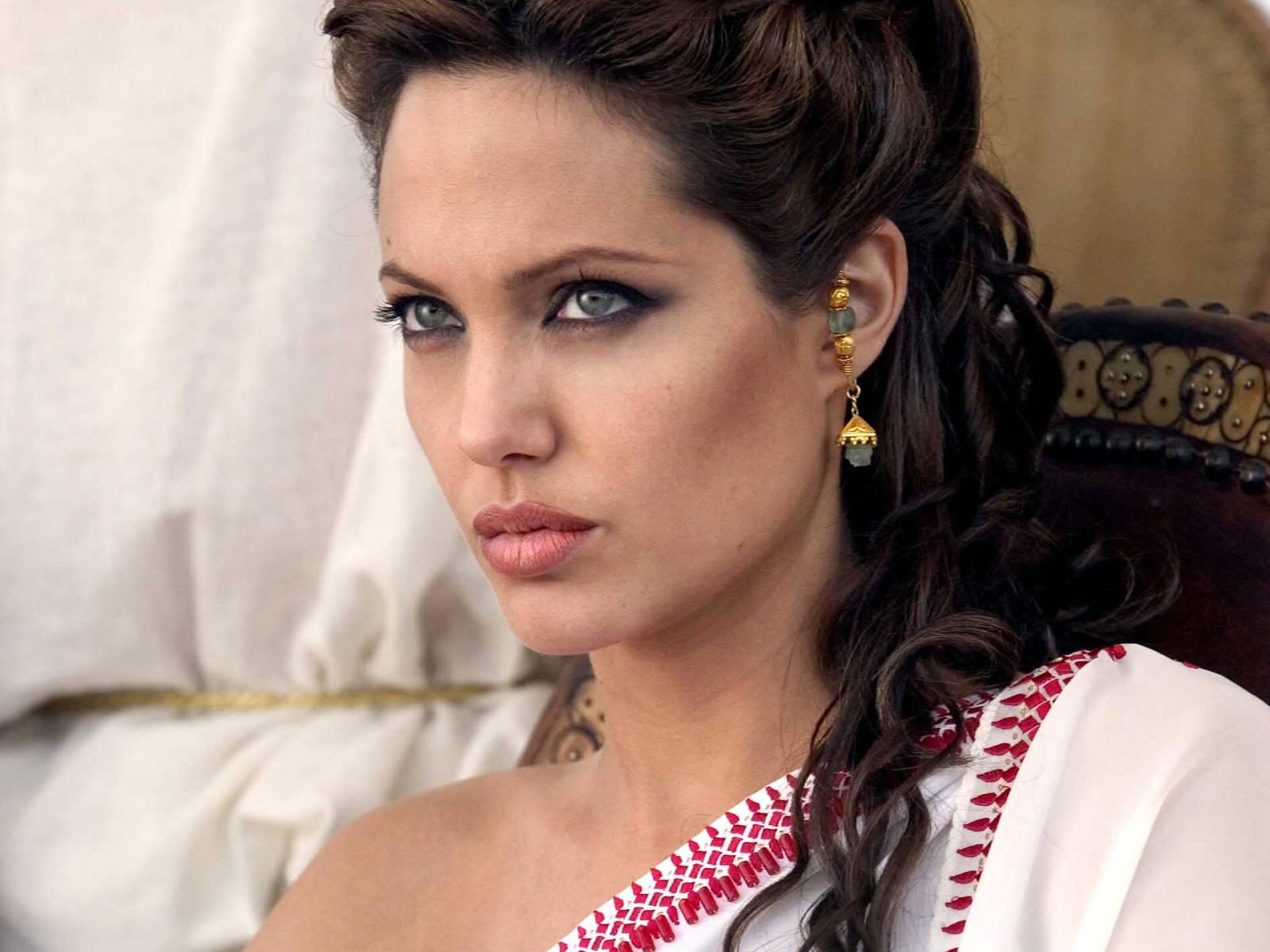 Angelina Jolie as Cleopatra