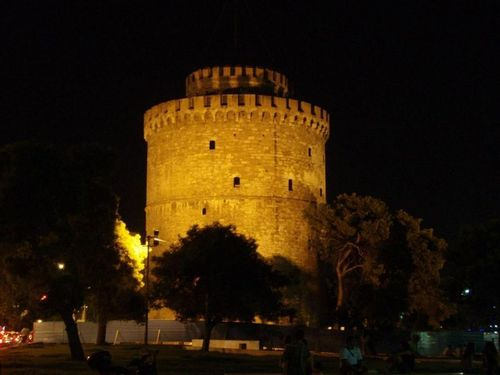 Greece wallpaper possibly with a palace, a castle, and a martello tower titled Beautiful Thessaloniki
