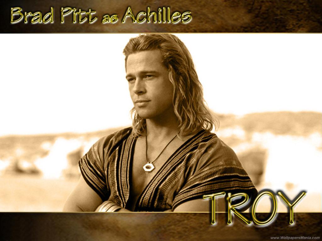 Brad Pitt karatasi la kupamba ukuta