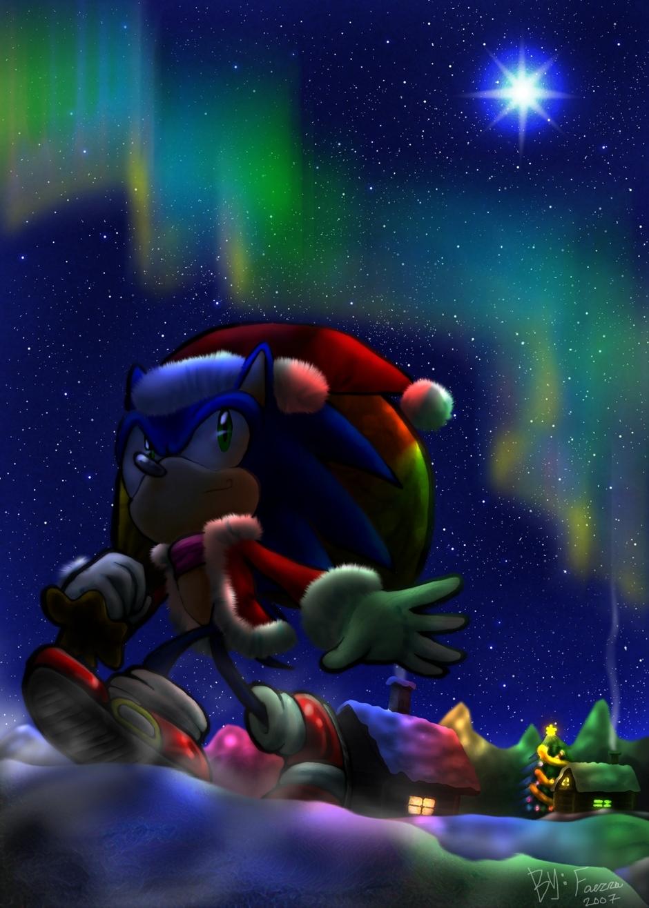 SONIC Weihnachten Bilder Weihnachten Sonic!! HD Hintergrund and ...