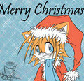 Christmas Tails - sonic-christmas fan art