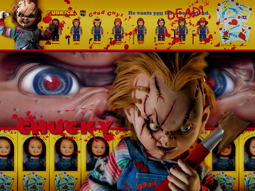 Chucky fond d'écran containing animé titled Chucky