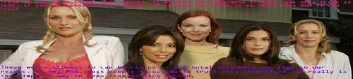 Desperate Housewive Quote Banner