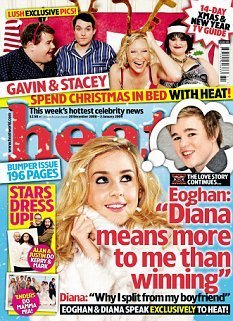 Diana Vickers wallpaper entitled Diana In 'Heat' Magazine