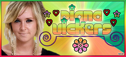 Diana Vickers wallpaper possibly containing a stained glass window, anime, and a portrait entitled Diana Vickers
