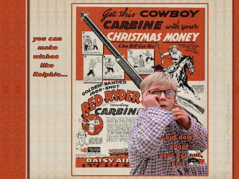A Christmas Story images Don't shoot your eye out HD wallpaper and ...