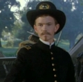 Doogie as a Union Soldier