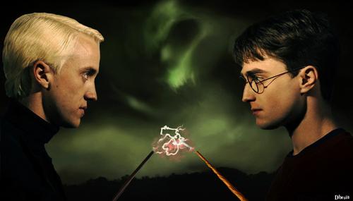 Draco Malfoy vs Harry Potter