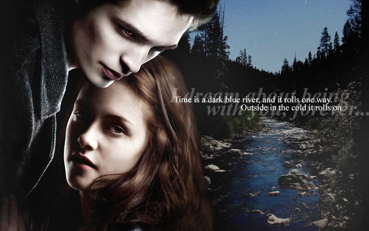 Edward & Bella Wallpaper - twilight-series wallpaper