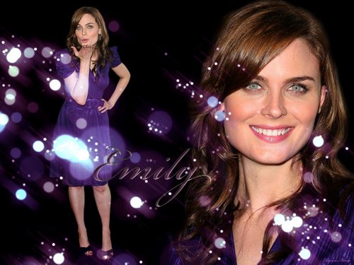 Emily Deschanel - bones Wallpaper