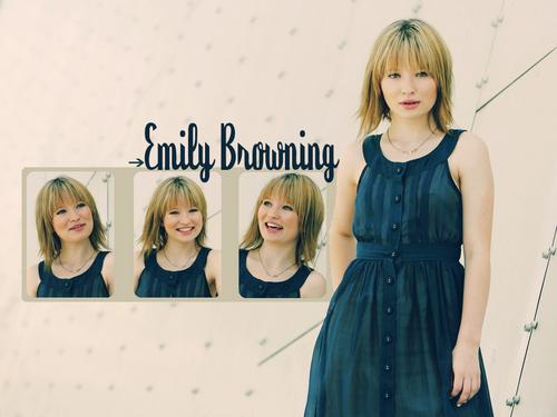 Emily kertas dinding