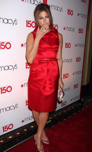 Eva at Macy's 150th Birthday Celebration