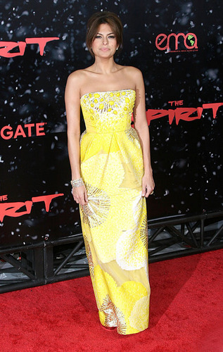Eva at The Spirit premiere