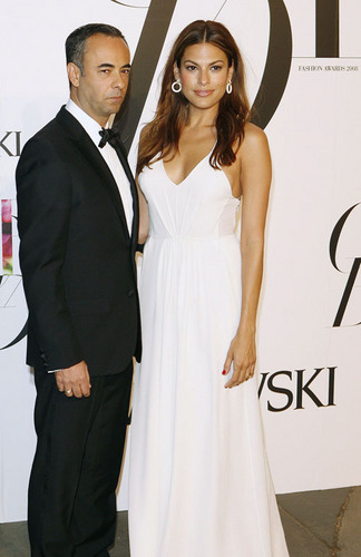 Eva at the CFDA awards