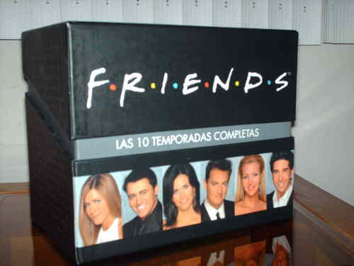 Friends wallpaper titled Friends box set in Spanish