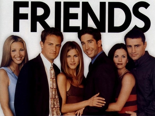 Friends wallpaper possibly containing a business suit entitled Friends