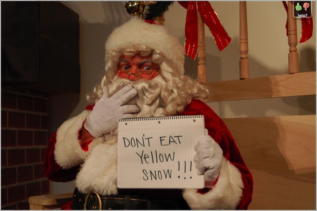 Christmas funny santa